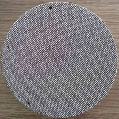 There is a spot welding extruder screen discs.