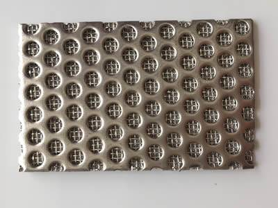 There is a sintered extruder screen square sheet.