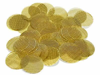 There are many brass extruder screen discs.